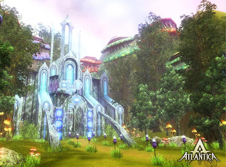 Screenshots aus Atlantica Online.