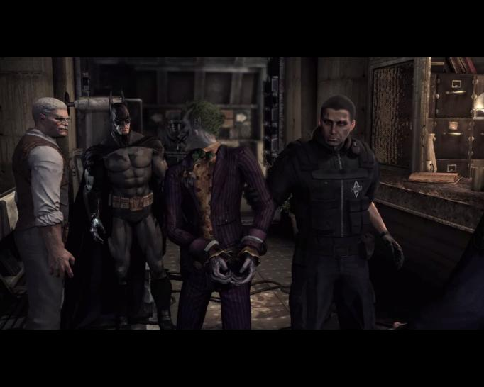 Screenshot aus Batman: Arkham Asylum