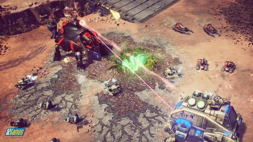 Crawler in Aktion: Neue Screenshots aus Command & Conquer 4.