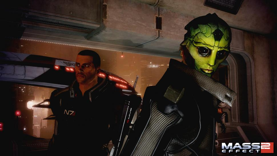 Screenshots aus Mass Effect 2 zeigen den Charakter Thane. (1)