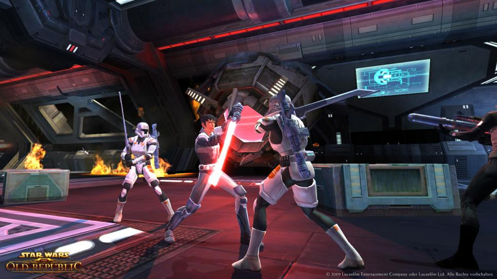 Screenshots aus Star Wars: The Old Republic. (1)