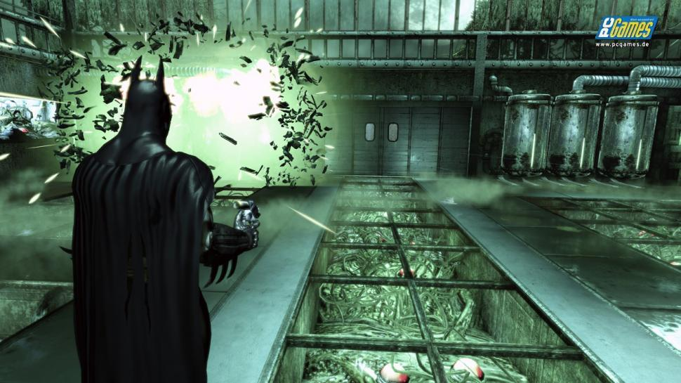 Screenshots aus Batman: Arkham Asylum.