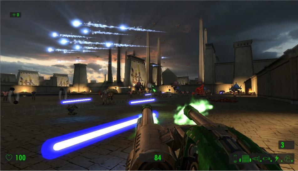 Neue Screenshots zu Serious Sam HD: The First Encounter.