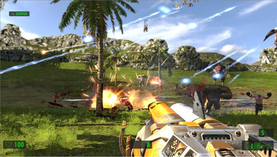 Screenshots zu Serious Sam HD: The First Encounter.