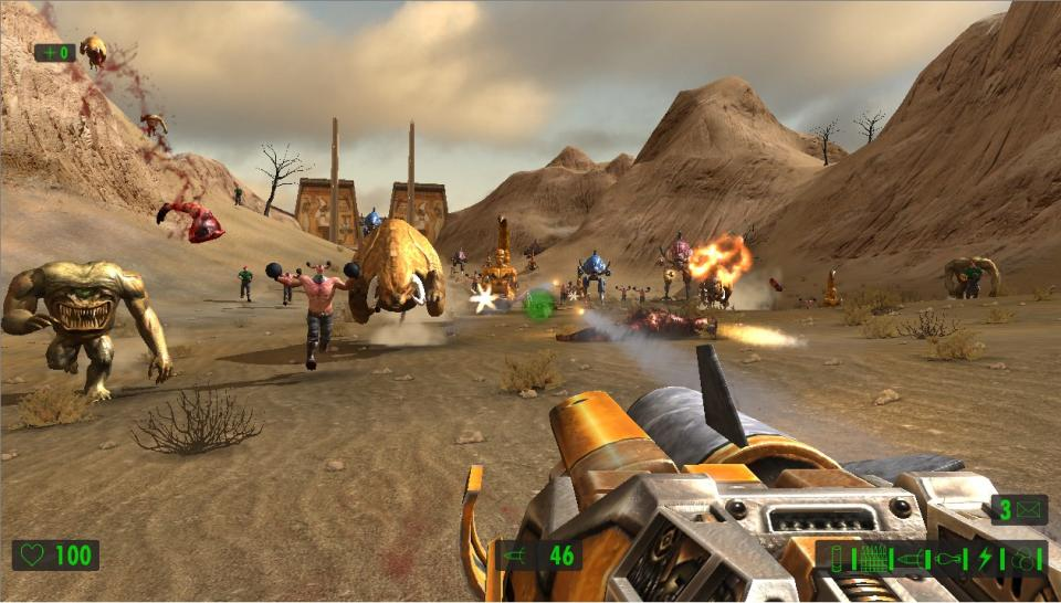 Serious Sam HD-Screenshot (1)