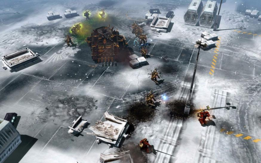 Dawn of War 2: Screenshots zum Addon Chaos Rising.