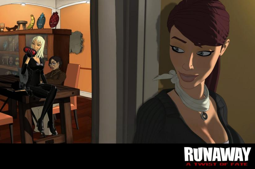 Screenshots aus Runaway: A Twist of Fate.