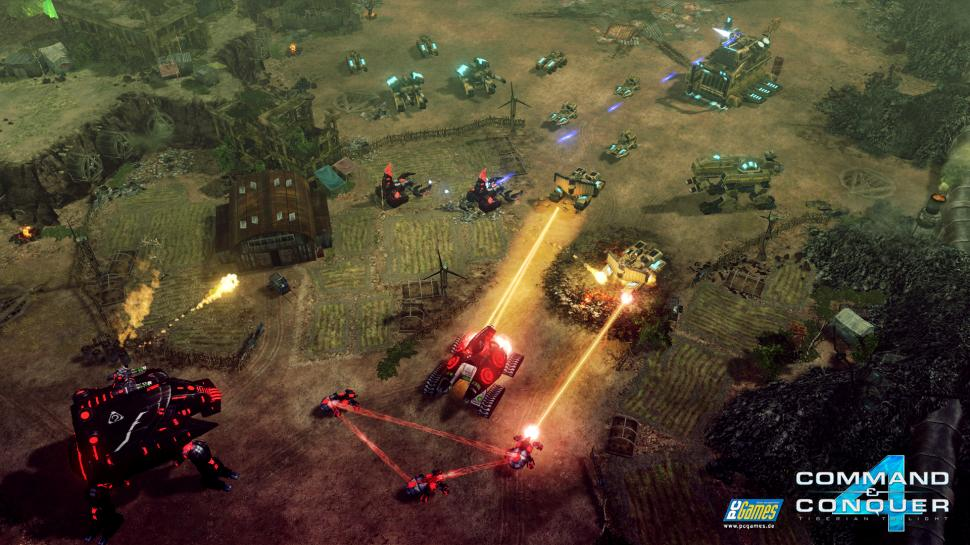 Screenshots aus Command & Conquer 4: Tiberian Twilight.