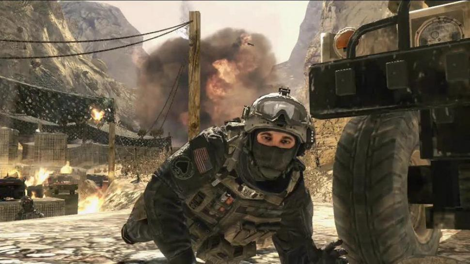 Kampagnen-Screenshots zu Call of Duty: Modern Warfare 2.