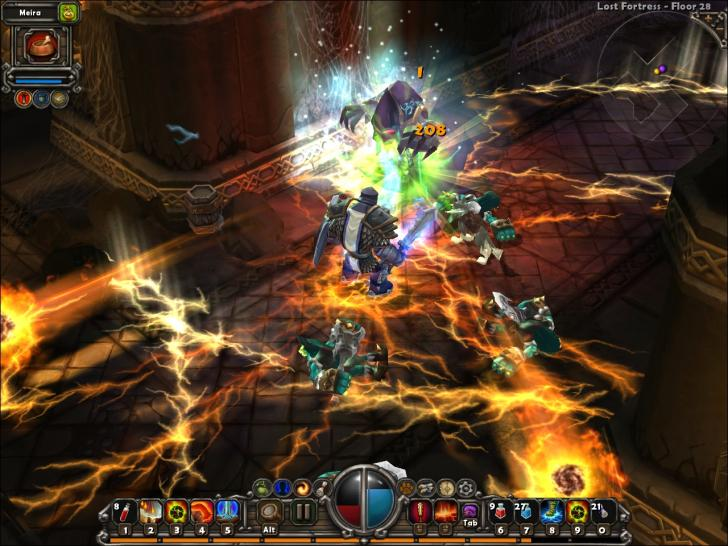 Screenshots aus Torchlight.