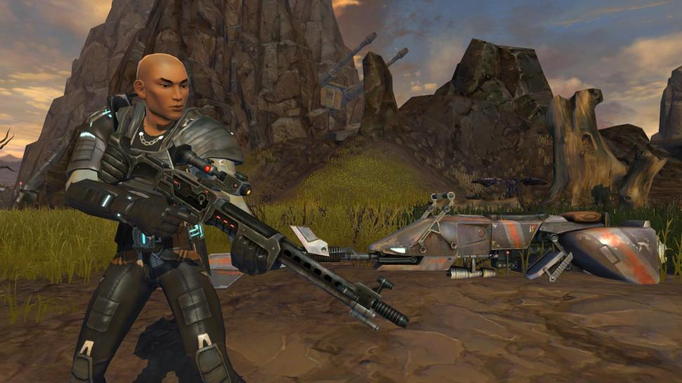 Imperialer Agent enthüllt: Neue Screenshots aus dem Bioware-MMO Star Wars: The Old Republic. (1)