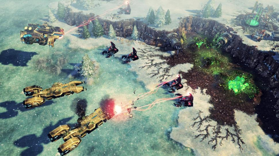 Aktuelle Multiplayer-Bilder zu Command & Conquer 4: Tiberian Twilight. (1)