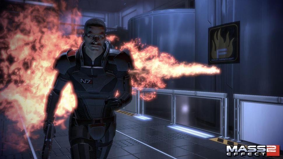 Screenshots zu Mass Effect 2.