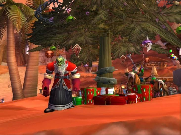 Screenshots vom Winterhauchfest in World of Warcraft.