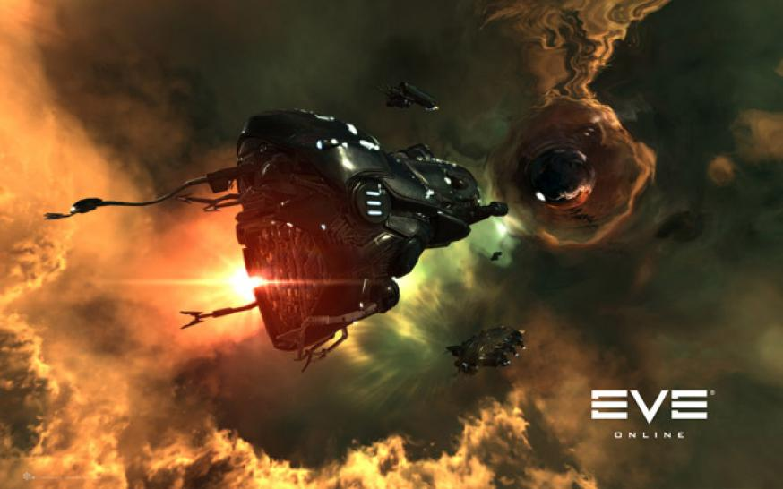 Screenshots aus Eve Online.