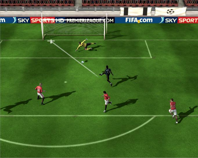 Screenshots aus FIFA Online.