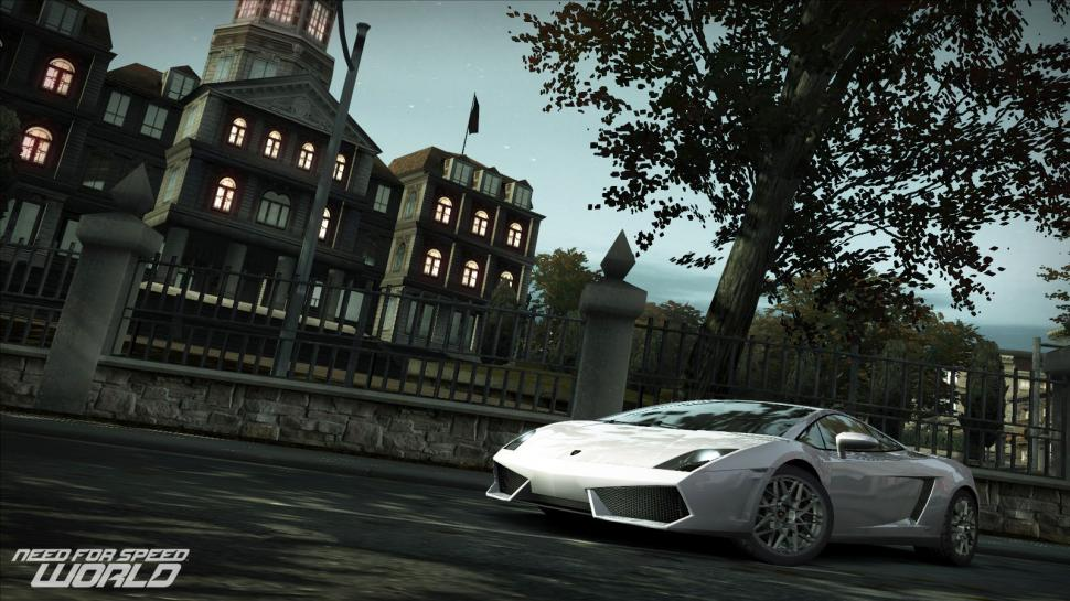 Screenshots aus dem kostenlosen Online-Rennspiel Need for Speed World. (1)