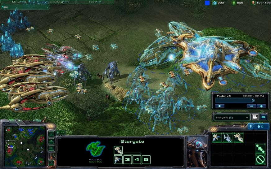 Screenshots aus Starcraft 2. (1)