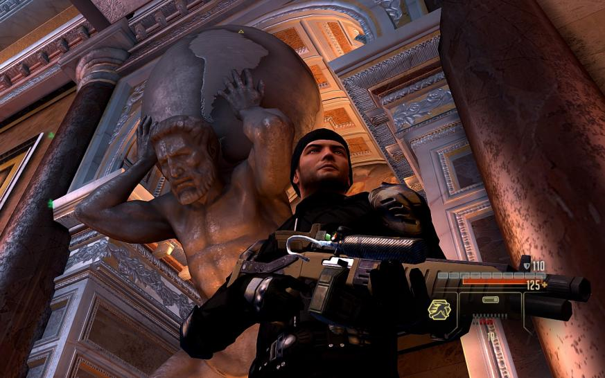 Screenshots aus Alpha Protocol.