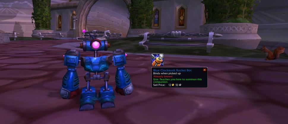 С выходом патча 3.3.3 в онлайн-игре World of Warcraft у NPC-игродела Джепет