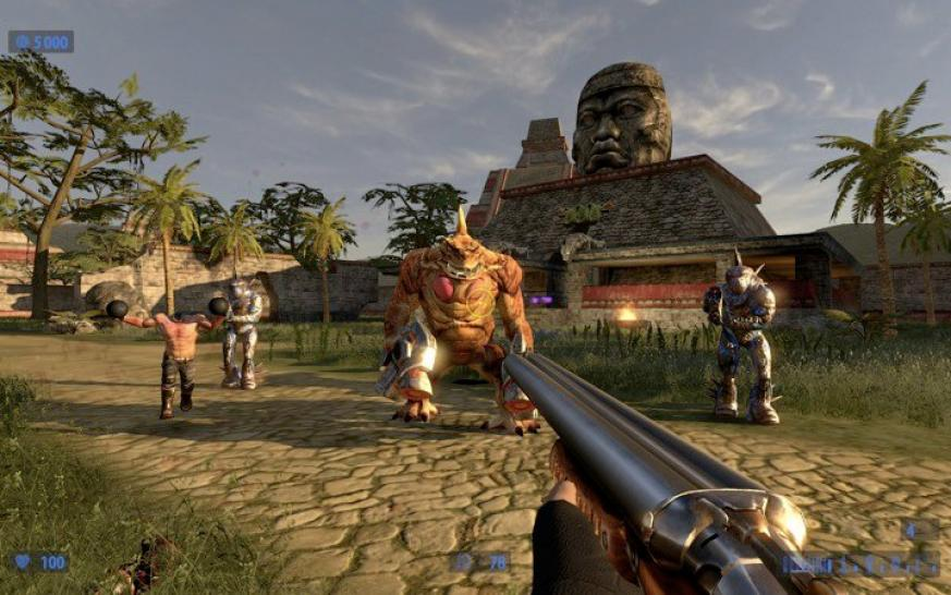 Hier seht ihr einige Screenshots aus Serious Sam HD: The Second Encounter. (1)