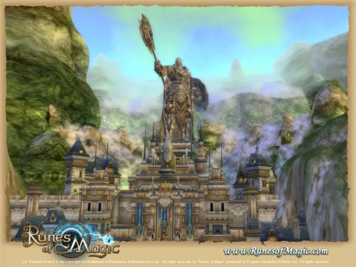 Screenshots aus Runes of Magic Chapter III - The Elder Kingdom.