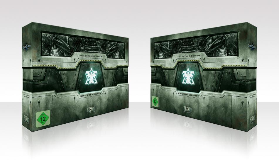 Die Starcraft 2 Collector's Edition