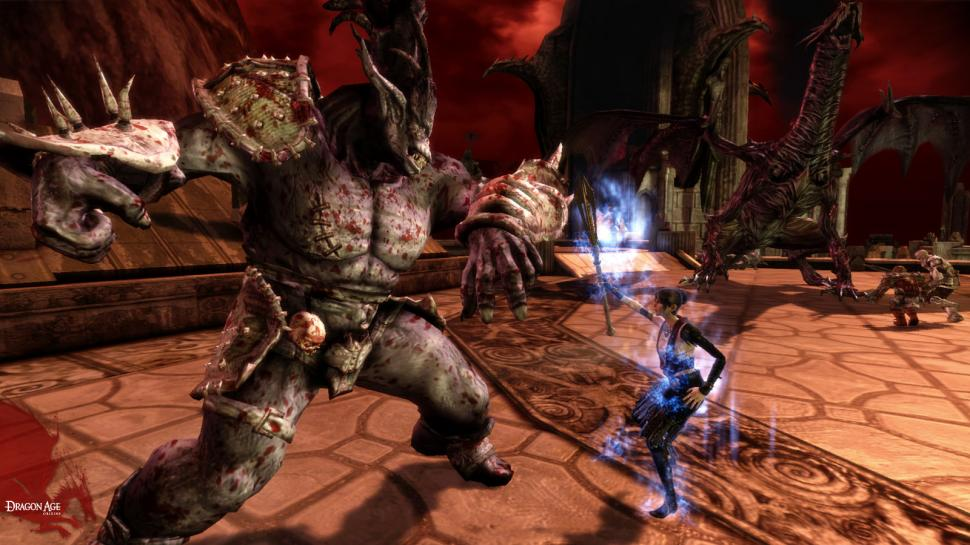 Screenshots aus Dragon Age: Origins.
