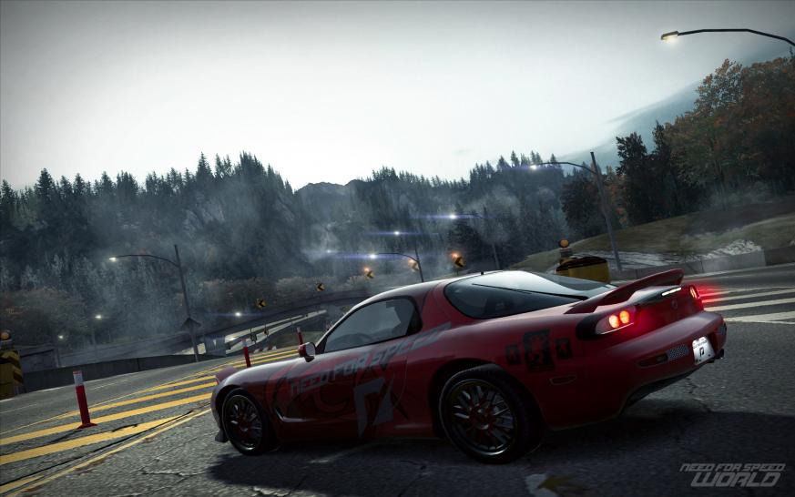 Screenshots aus Need for Speed World.
