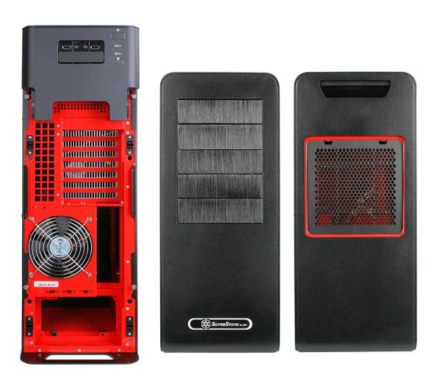 Silverstone Fortress FT02: Rot-schwarze Sonderedition bei Caseking (1)