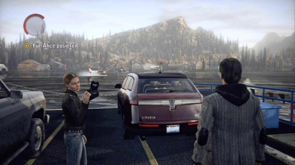 Screenshots aus der Testversion von Alan Wake.