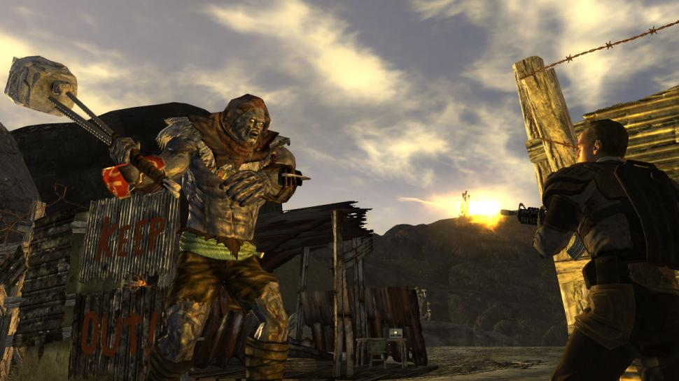 Screenshots aus Fallout: New Vegas.
