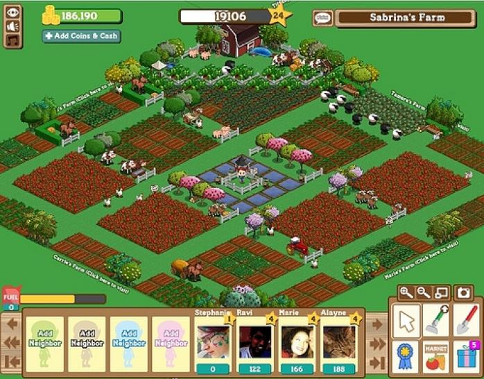 Farmville: iPad- und iPhone-Version 1.09 mit HD-Grafik im iTunes-Store veröffentlicht. Nun darf auch unterwegs geerntet werden.