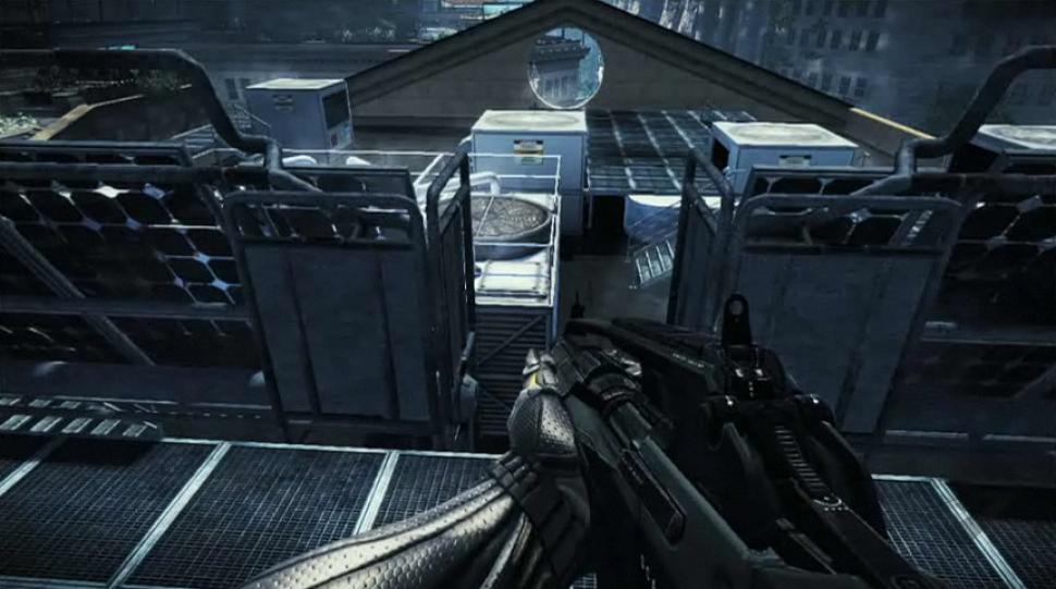 Gameplay-Screenshots zu Crysis 2 aus dem Spielszenen-Video. (1)
