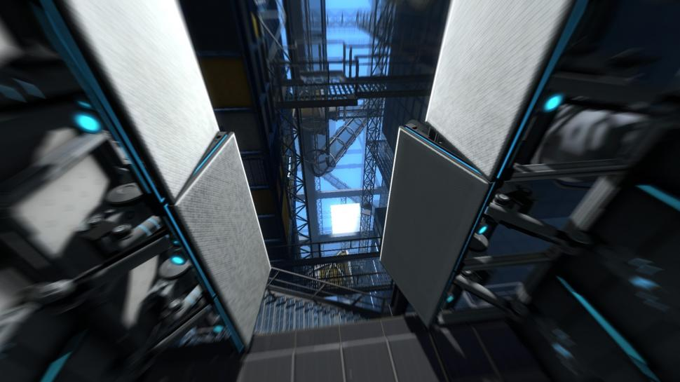 Screenshots aus Portal 2.