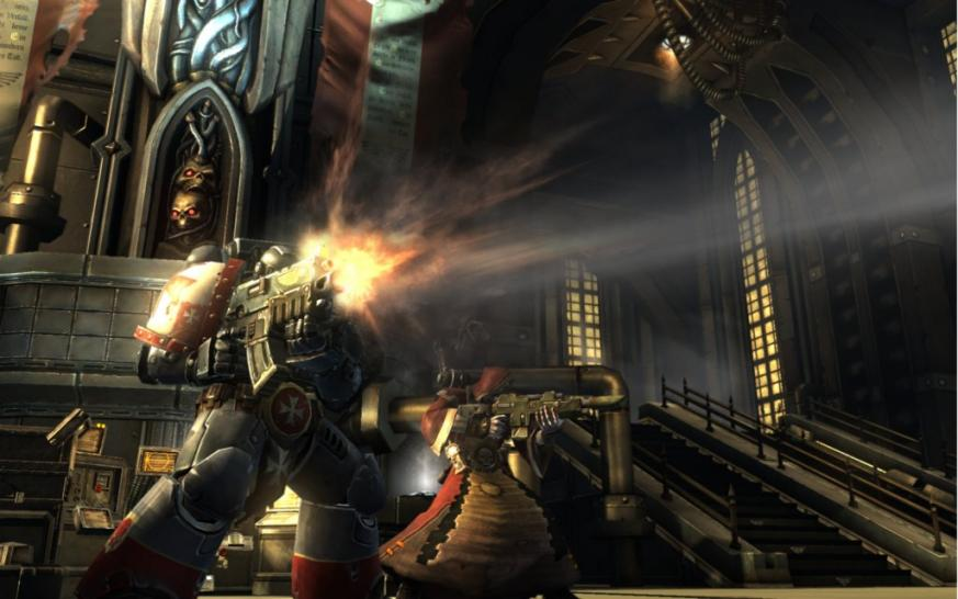 Warhammer 40K: Dark Millennium Online in der großen Buffed-Trailer-Analyse. (1)