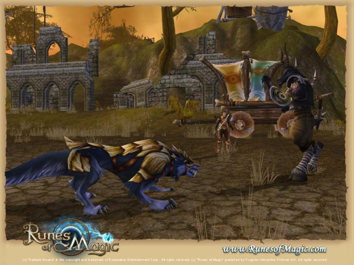 Runes of Magic: Warnorkenburg geht live: Neue Screenshots und ein Video. (1)