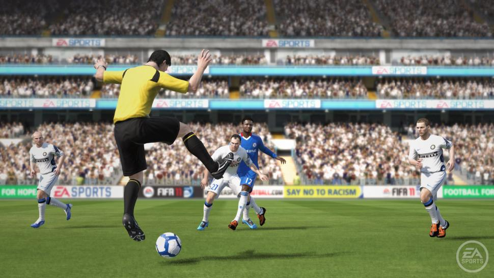 Screenshots aus FIFA 11.