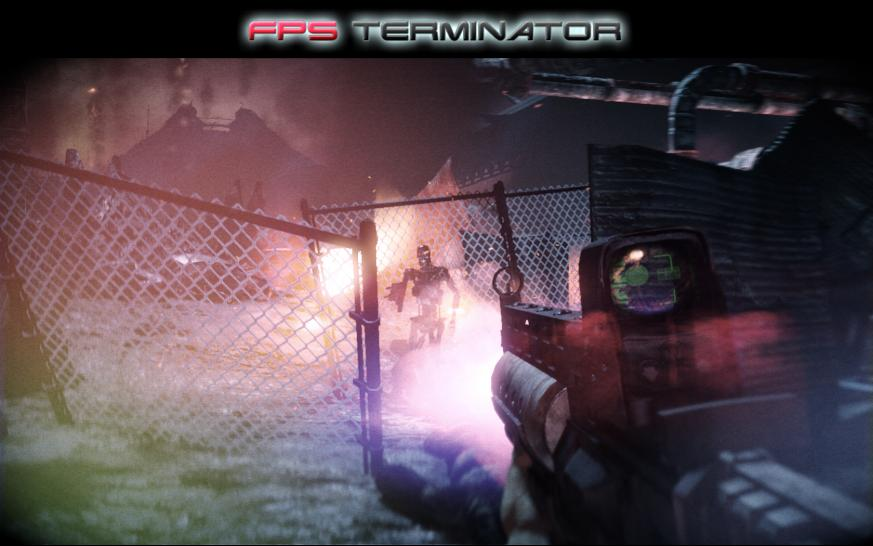 Screenshots aus FPS Terminator.