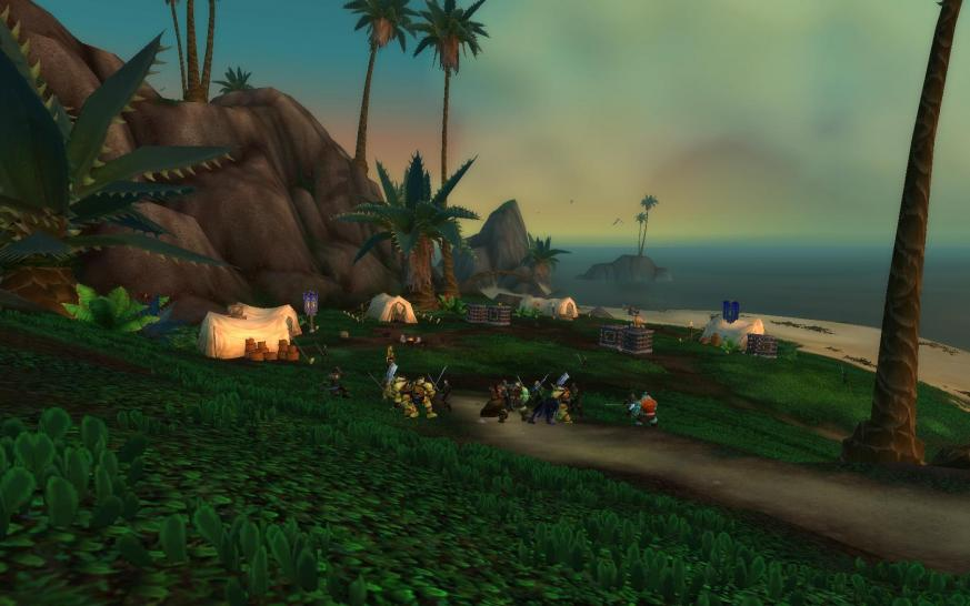 Screenshots aus World of Warcraft: Cataclysm.