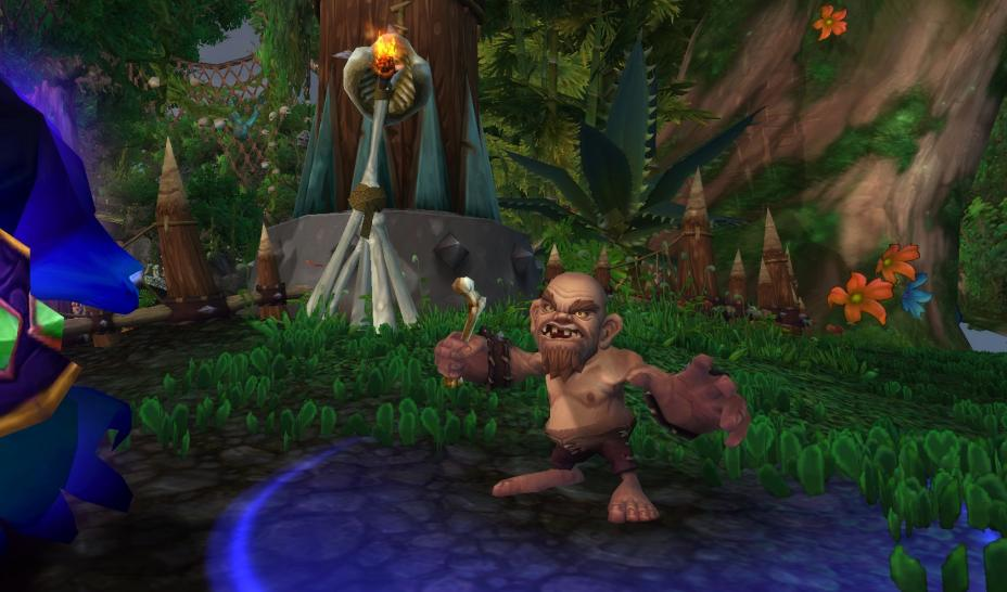 Screenshots aus der Beta von World of Warcraft: Cataclysm.