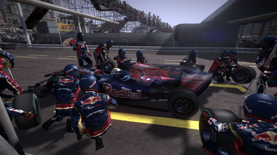 Screenshots aus F1 2010. (1)
