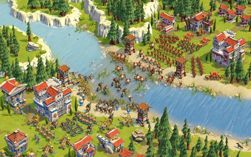 Screenshots aus Age of Empires Online