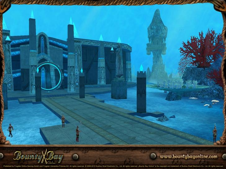 Screenshots aus Bounty Bay Online - Atlantis.