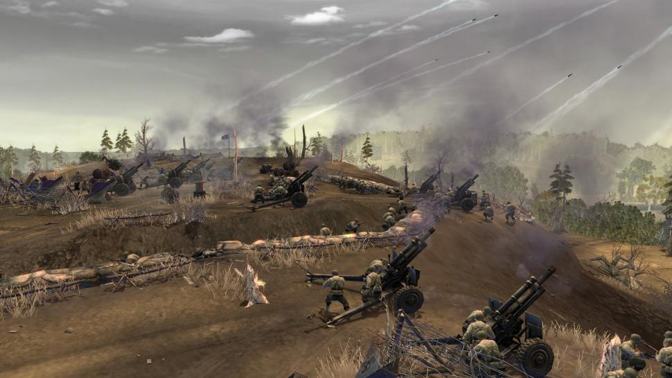 Screenshots aus Company of Heroes Online.