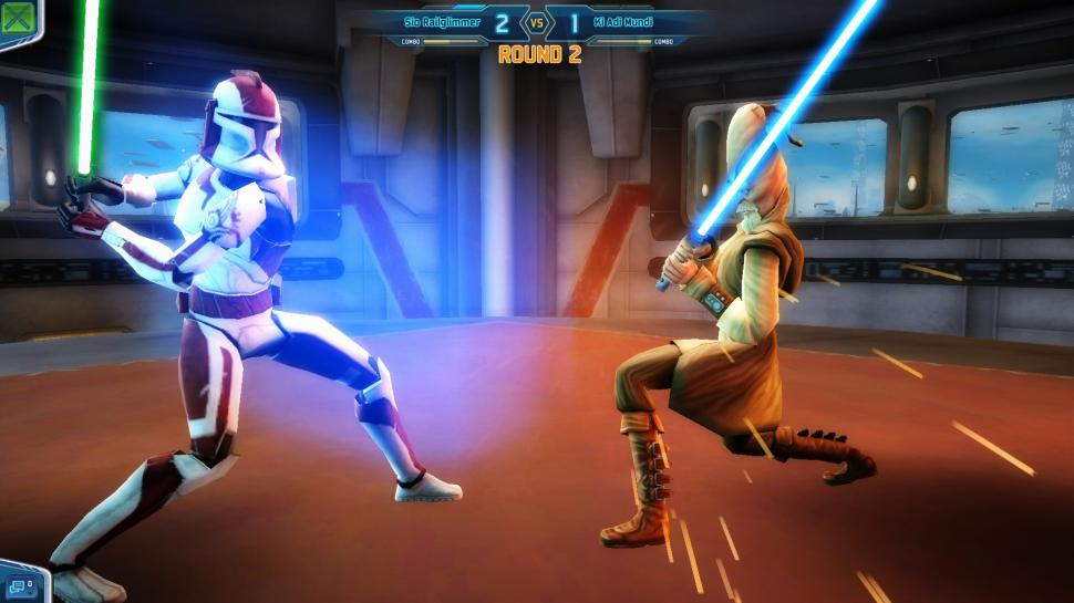 Screenshots aus Star Wars: Clone Wars Adventures.