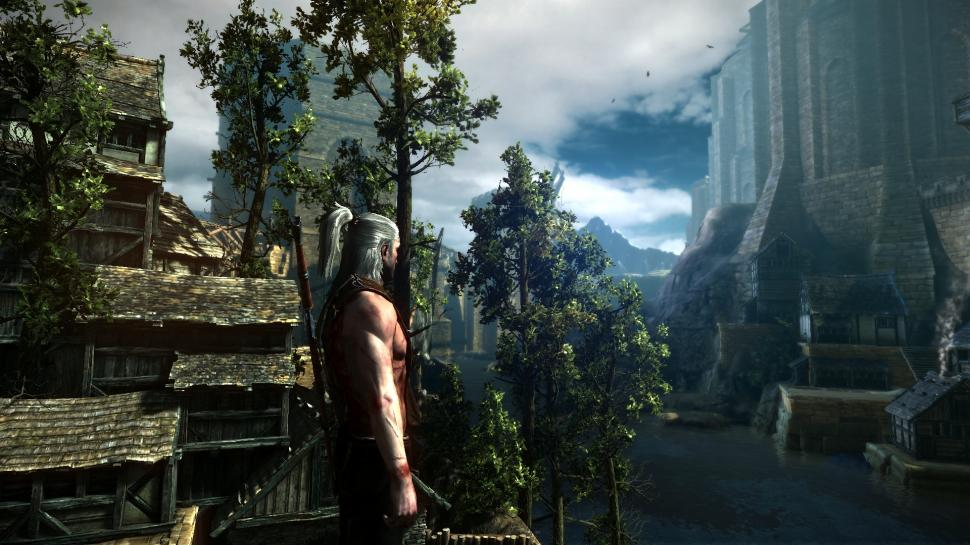 Screenshots aus The Witcher 2.