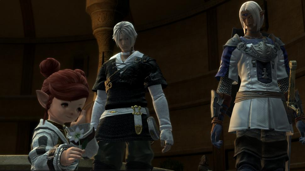 Screenshots aus Final Fantasy 14 Online.
