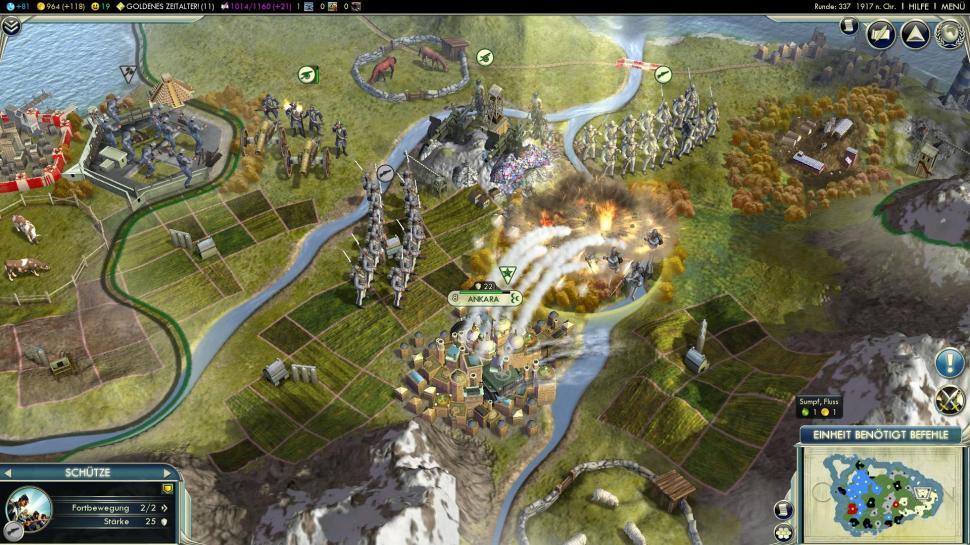 Civilization 5: Neuer Patch via Steam veröffentlicht
