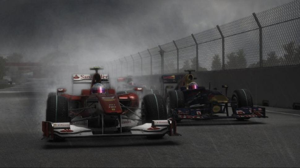 Screenshots aus F1 2010.